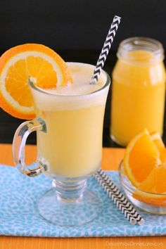 This Allergy Friendly Orange Julius is creamy, frothy, and delicious, yet dairy and nut milk free!