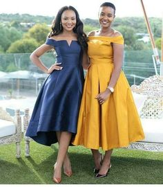 Wedding Guests Are Bringing Their A-Game - See Their Eye-Popping Fashion-Forward Statements - Wedding Digest Naija African Print Dresses, African Print Fashion, African Wear, African Attire, African Fashion Dresses, African Dress, Classy Dress, Looks Style, Lovely Dresses
