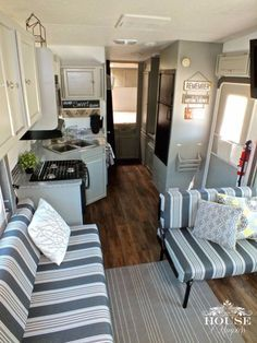 This generically styled camper underwent a total makeover.