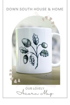 Southern Kitchen Decor, Southern Kitchens, Rustic Kitchen, Country Kitchen, Granny Chic Decor, Down South, Perfect Cup, Southern Belle, Acorn