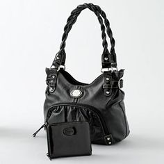29f3c2dca6 Rosetti handbags at Kohl s - This tote purse features a faux-leather  construction.