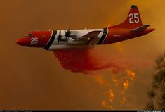 The Orion Airtanker is the most maneuverable and proven airtanker in the United States. Bomber Plane, Jet Plane, Military Jets, Military Aircraft, Aircraft Painting, Aircraft Pictures, Emergency Vehicles, Fire Department, Fire Trucks