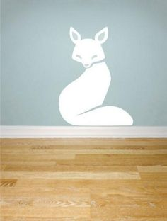 cute fox squirrel deer bunny hedgehog house home Art Decals Wall Sticker Vinyl Wall Decal stickers living room bed baby room 647
