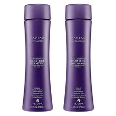 The Ten Best Shampoos & Conditioners for Winter. # 5 ALTERNA CAVIAR Anti-Aging® Replenishing Moisture Shampoo and Conditioner. Turn back time with this anti-aging (think radiance restoring), moisture imparting duo from ALTERNA CAVIAR.