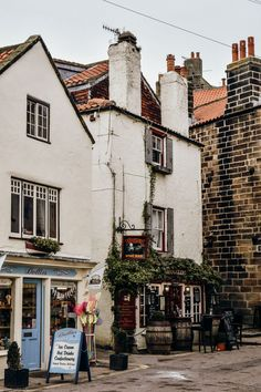 Yorkshire has some truly stunning villages along it's coastline. Here is a guide to three of the most beautiful villages in North Yorkshire! Yorkshire England, North Yorkshire, Visit Yorkshire, Yorkshire Dales, Cornwall England, Beautiful Streets, Beautiful Places To Visit, Cool Places To Visit, English Village