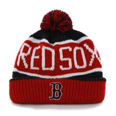 6ef2643a7b6 Boston Red Sox Calgary Cuff Knit Navy 47 Brand Hat