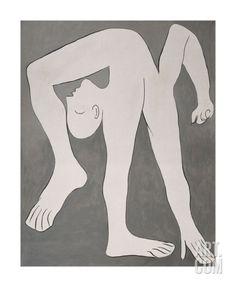 L'acrobate (The Acrobat) Art Print by Pablo Picasso at Art.com