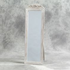 White Vintage Floor Mirror - Flooring Ideas and Inspiration