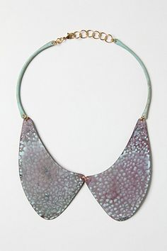Caminito Collar Necklace #anthropologie.  i'm dying to see this in person.