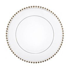 Gold Beaded Charger Plates to Hire