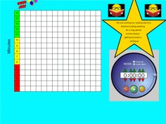 Daily Five Reading Stamina Graph and Timer- oooh, it is already made for me and uses my smarboard.  SWEET!