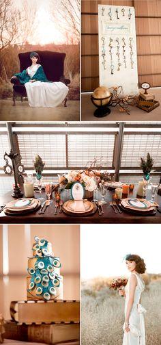 The Aviator wedding, Stunning vintage theme, stunning color pallet.