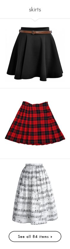 """skirts"" by jarana-okt-talisan ❤ liked on Polyvore featuring skirts, mini skirts, bottoms, saias, faldas, button front mini skirt, pleated midi skirt, plaid midi skirt, pleated skirts and red skirt"