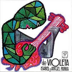 Violeta Victor Jara, Textiles, Guache, Great Artists, Art For Kids, Folk, Artsy, Symbols, Anime
