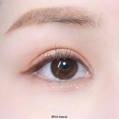 make up looks natural asian Korean Makeup Look, Korean Makeup Tips, Asian Eye Makeup, Korean Makeup Tutorials, Smokey Eye Makeup, Makeup Eyeshadow, Makeup Inspo, Makeup Inspiration, Beauty Makeup
