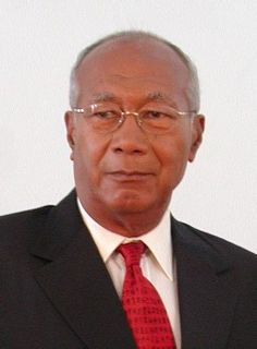 George Maxwell Richards, TC, CM is the fourth President of Trinidad and Tobago.