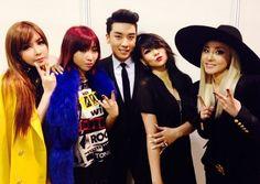 <3<3<3<3Bom Minzy Seungri Cl Dara<3<3<3