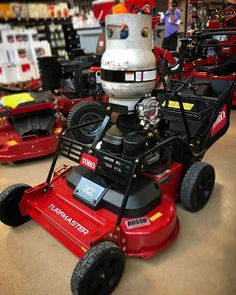 Did you know that you could convert a walk behind mower to propane? Check out this Toro TurfMaster!  #landscapers_of_instagram #landscapersofinstagram #RussoPower #TheToroCompany #propane #conversion