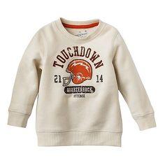 Jumping Beans Touchdown Fleece Sweatshirt - Baby