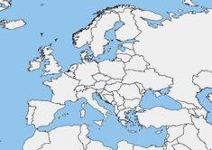 Mapas de Europa para imprimir | laclasedeptdemontse Teaching French, Teaching Spanish, Spanish Lessons, Spanish Class, Europe Map Printable, Home Bild, World Language Classroom, Teaching Geography, Spanish Culture