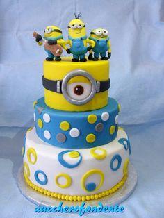 Torta Minions e buon onomastico Carlo!!!