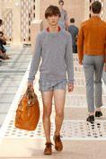 Look Nr.5 aus der Louis Vuitton Frühjahr/Sommer 2014 Fashion Show