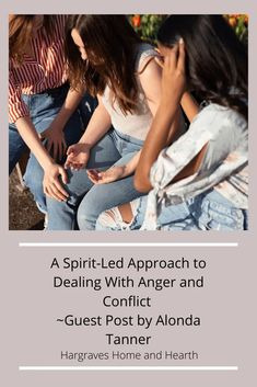A Spirit-Led Approach to Dealing With Anger and Conflict ~Guest Post by Alonda Tanner - Hargraves Home and Hearth Daily Encouragement, Christian Encouragement, Christian Women, Christian Life, What Did Jesus Do, Psalm 4, Slow To Speak, Dealing With Anger, Come Unto Me
