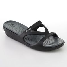 Crocs Hilga Wedges I want these so bad, very comfortable sandles that look nice