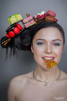 La coiffure originale, gourmande et belle dans Accesoires cheveux studiodixsept-coiffure-et-fabrice-lastavel-photographe