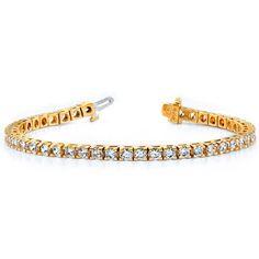 Diamantarmband 7.00 Karat aus 585er/750er Gelb- oder Weißgold  #diamantarmband #diamonds #diamante #diamanten #gold #schmuck #diamantschmuck #juwelier #abt #dortmund