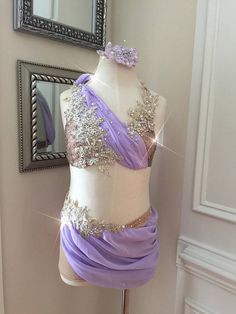 2 Piece Custom Lyrical Dance Costume--Tan and Violet with appliques Dark Grey and Burgundy with appliques Cute Dance Costumes, Tap Costumes, Dance Costumes Lyrical, Ballroom Costumes, Lyrical Dance, Belly Dance Costumes, Contemporary Dance Costumes, Dance Outfits, Competitive Dance