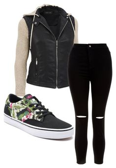 """Untitled #58"" by kristyna-r on Polyvore featuring New Look, Vans and plus size clothing"