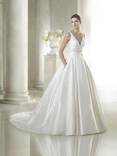 L St Patrick 2017 Safara Mariaanl Stunning Simple Stylish Wedding Dresses