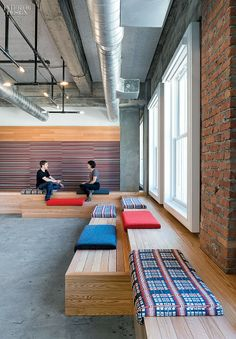 Fun seating areas Shout it Out: Yelp's San Francisco HQ by Studio O+A | Projects | Interior Design