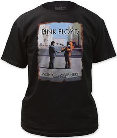 dc59fea1e96d81 Pink Floyd T-shirt - Wish You Were Here Album Cover Artwork. Men s Black  Shirt
