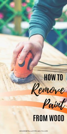 Check this guide how to remove paint from wood and wooden furniture. Helpful tips and tricks to  safely get rid of old paint from wood furniture and other wood surfaces. Removing paint from wood without a sander or without chemicals. Plus advice on removing dried oil based paint or water based paint stains as well. Removing Paint From Wood, Remove Paint, Stripping Paint, Paint Stain, How To Remove, Sanding Tips, Hardwood Furniture, Wooden Furniture, Upcycled Crafts