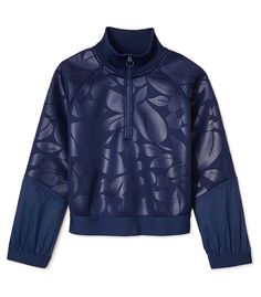 Adidas By Stella Mccartney Embossed Running Sweatshirt