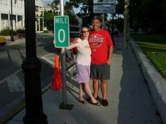 If you have to reach the end of the road, make sure it's with the one you love! Key West, FL