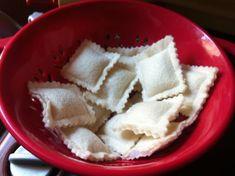 Ravioli Felt Play Pretend Food Kids Toy Kitchen accessories Pasta Italian Food 10 piece set