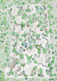 junya ishigami shows 'freeing architecture' at fondation cartier in paris Landscape Architecture Drawing, Landscape Design, Fondation Cartier, Architect Jobs, Architecture Presentation Board, Arch Model, Urban Farming, Master Plan, Garden Planning