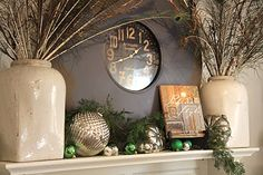 Brocante Home holiday mantle
