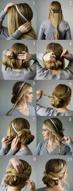 ¿Y si llevas un peinado como de cuento de hadas?