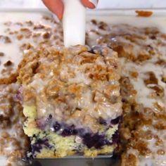 Blueberry Muffin Cake!