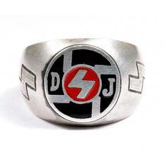 WW II Hitler Jugend sterling silver ring