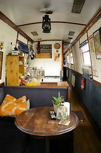 1999-60ft-Cruiser-Narrow-Boat-Dignity-London Barge Boat, Canal Barge, Barge Interior, Best Interior, Canal Boat Interior, Narrowboat Interiors, Mobile Living, Floating House, Tiny House Movement