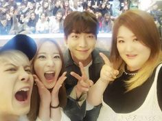 The former cast members of 'Roommate' made sure to meet up on the set of new SBScompetitiv…