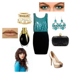 """""""Partyyy"""" by jules554 ❤ liked on Polyvore featuring Motel, Nine West, Alexander McQueen, Fantasy Jewelry Box, River Island and Zooey"""