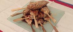Japanse kipspiesjes; Lekker met minder vet   Lekker Tafelen