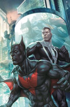 Superman and Batman by Artgem