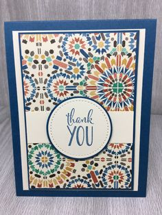 Thank You Cards Stampin Up Handmade Greeting by SWEETMILAGROS